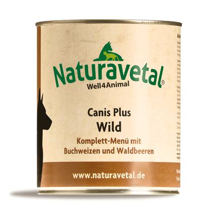 Canis Plus Wild Komplett-Menü 800g